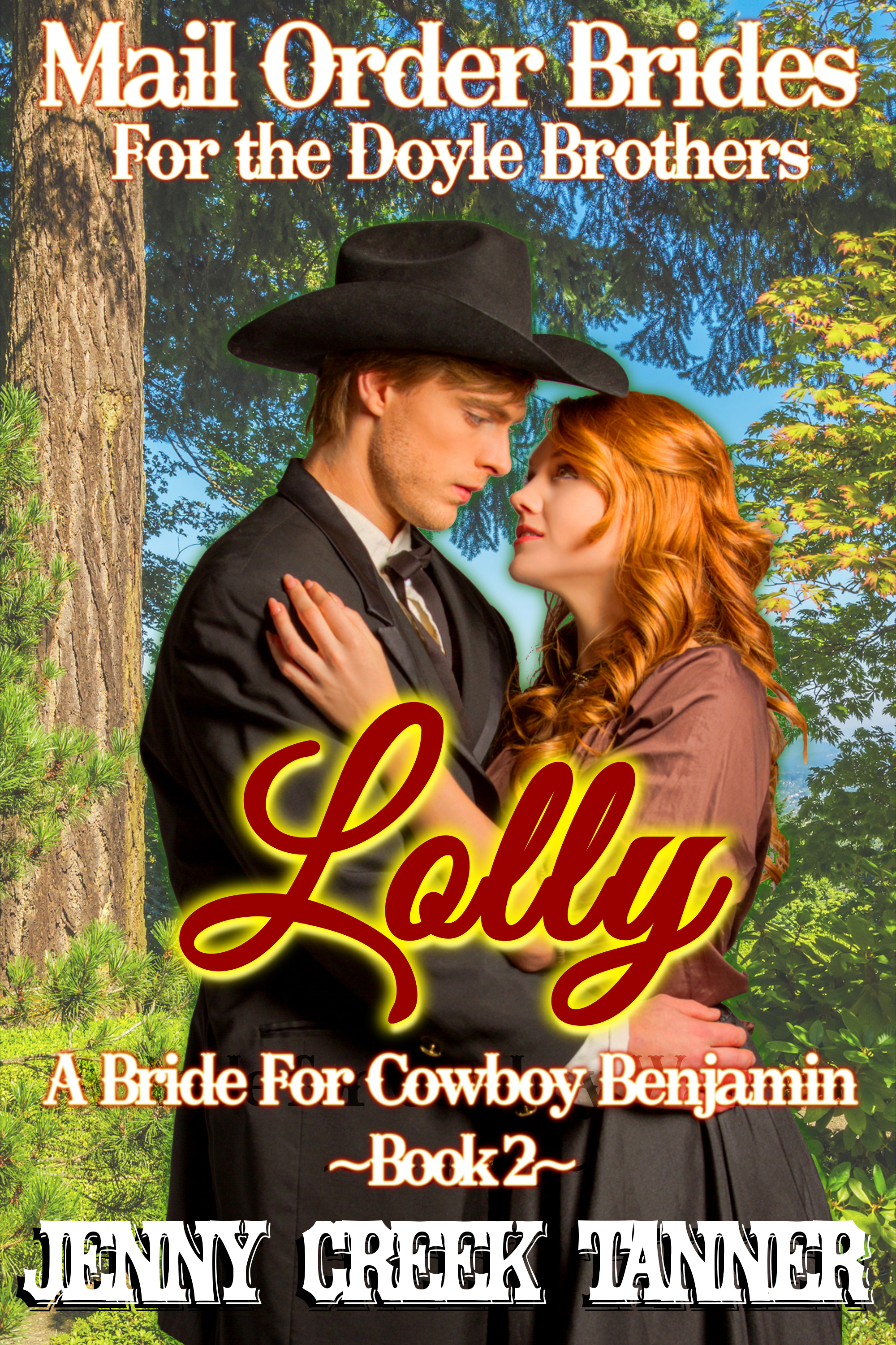 AUDIO BOOK – Lolly: A Bride for Cowboy Benjamin: Mail Order Brides for the Doyle Brothers, Book 2