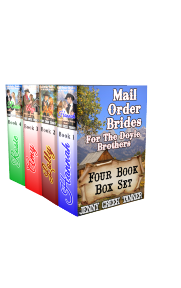 Mail Order Brides For The Doyle Brothers (Clean Western Romance Box Set): A Bride for Cowboy Warren, Benjamin, Lewis and Percy