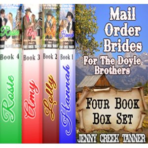 AUDIO BOOK – Mail Order Brides for the Doyle Brothers: Clean Western Romance 4-Book Box Set